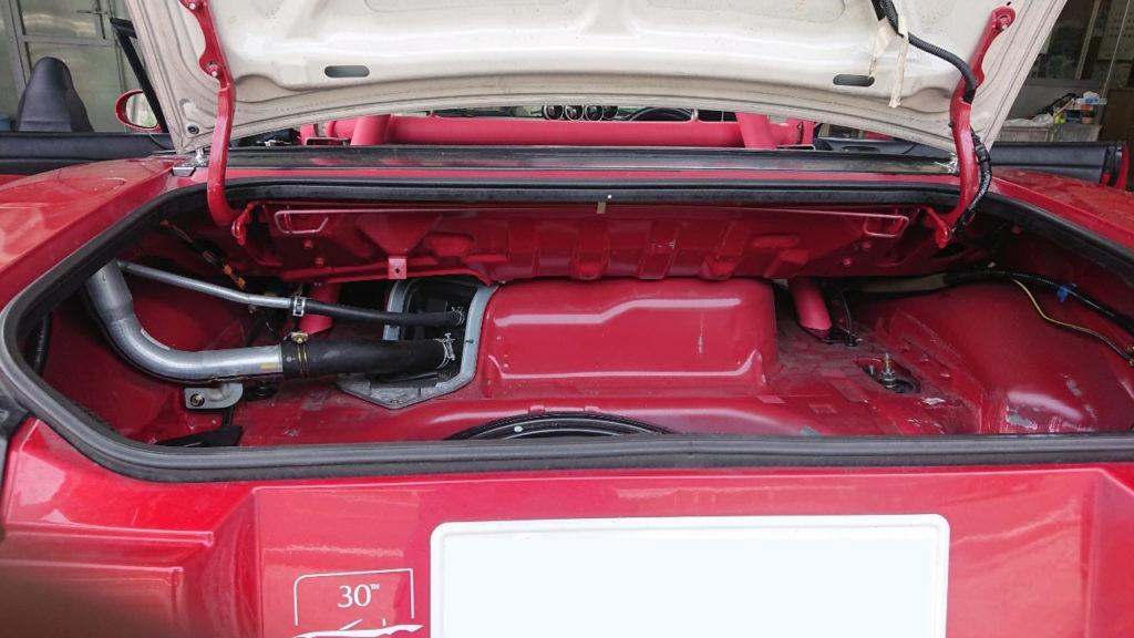 お取付けレポート ロードスターNB8C 幌ハードトップ兼用タイプ_4P+斜行バー、ラダーバー、メインセンターバー